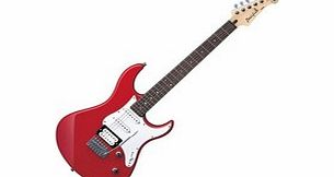 Pacifica 112V Electric Guitar Raspberry Red