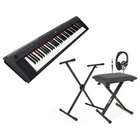 Piaggero NP31 Digital Piano Black + Stand
