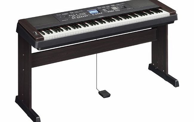 Portable Grand DGX650 Digital Piano Black