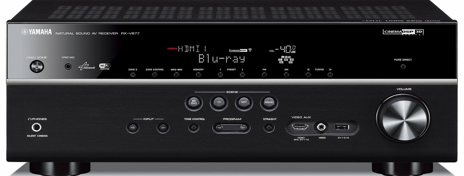 RXV677BLB AV Amplifier and Receiver