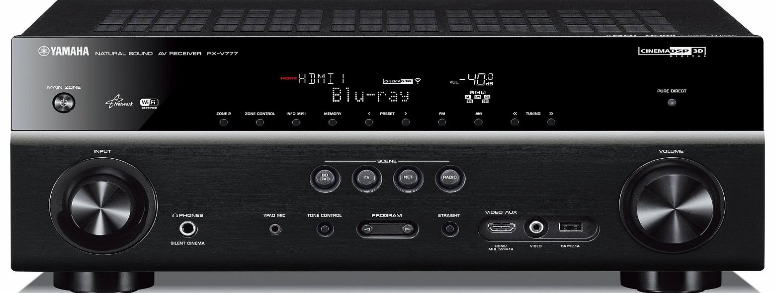 RXV777BLB AV Amplifier and Receiver
