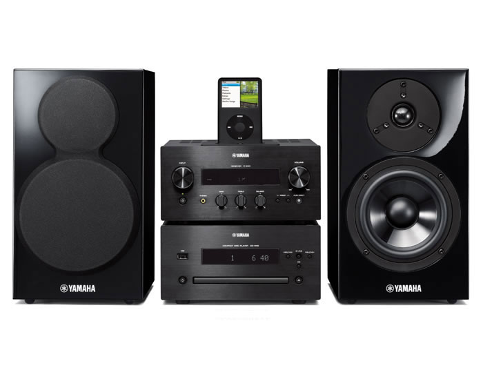 Yamaha stmcr640blp hi fi system review compare prices for Yamaha pure direct