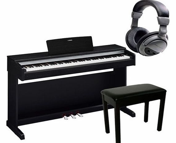 YDP142 Digital Piano Package in Black