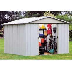 Yardmaster garden sheds for Extra large metal sheds