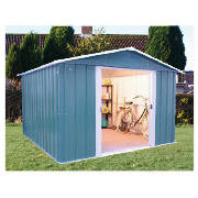 Garden Sheds Yardmaster Titan Metal Apex Shed 6x8 With F