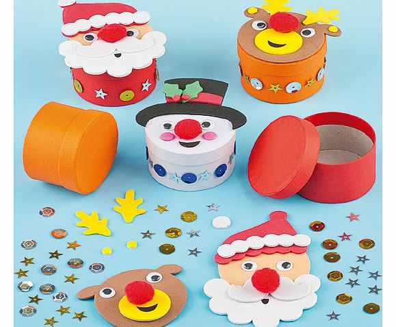 Christmas Gift Box Kits - Pack of 3