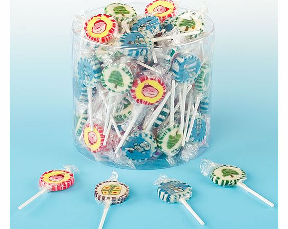 Christmas Lollies - Tub of 100