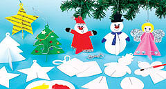 3D Christmas Hanging Decorations