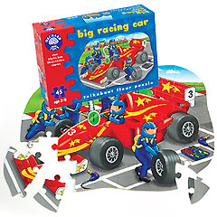 Big Racing Car Puzzle