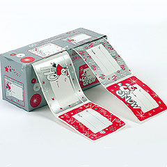 Large Festive Self-Adhesive Labels