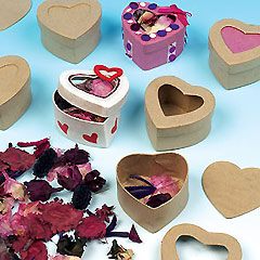 Pot Pourri Heart Boxes