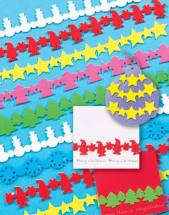 Self-Adhesive 3D Festive Foam Borders