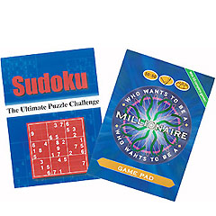 Sudoku and Millionaire Game Pads
