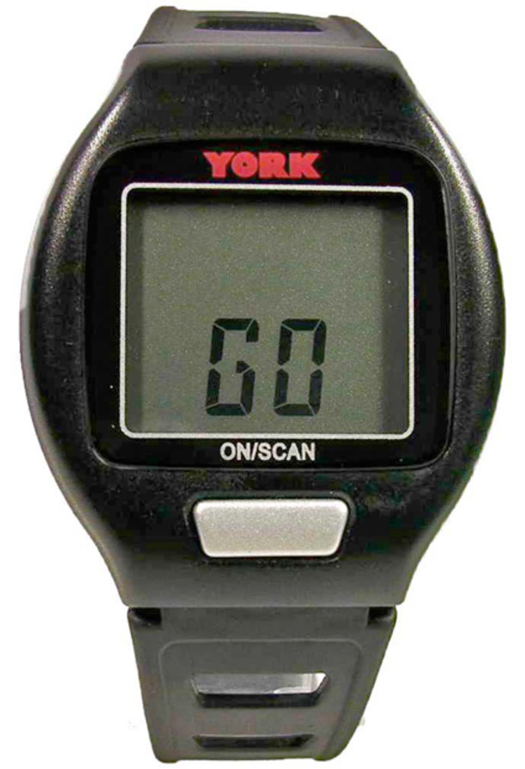 York Fitness Go heart Rate Monitor