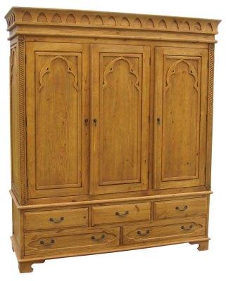 Your Price Furniture Me val Triple Wardrobe