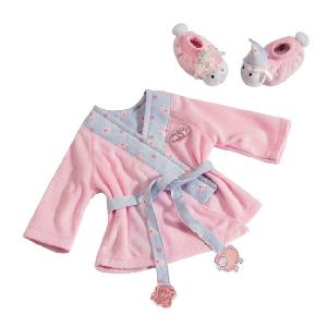 Baby Annabell Bathrobe and Shoes Luxury set