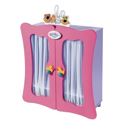 Baby Born Wooden Wardrobe (800508)