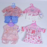 Set of 4 Baby Born Dresses and Shorts