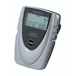 Zeon Tech Talking Pedometer