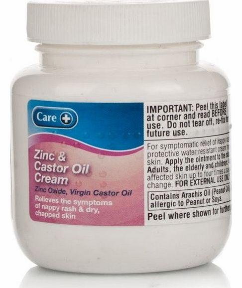 & Caster Oil Cream Bp