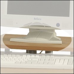 ` Office Furniture Monitor Stand - Alder 50W
